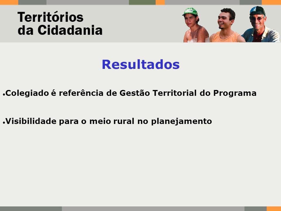 Resultados Colegiado é referência de Gestão Territorial do Programa
