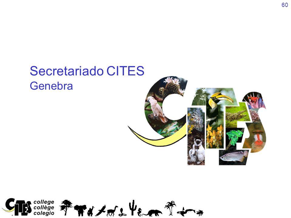 Secretariado CITES Genebra