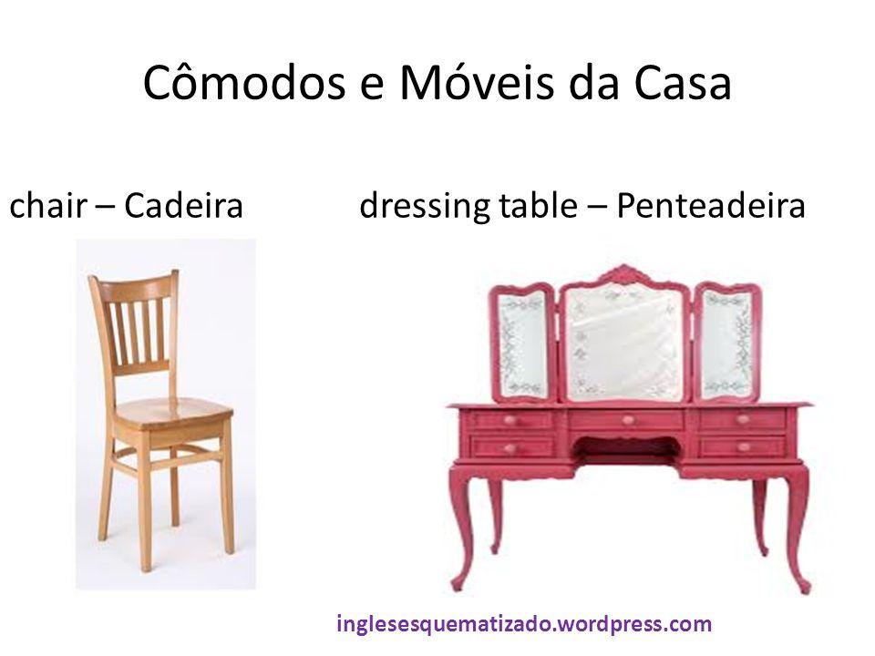 Cômodos e Móveis da Casa