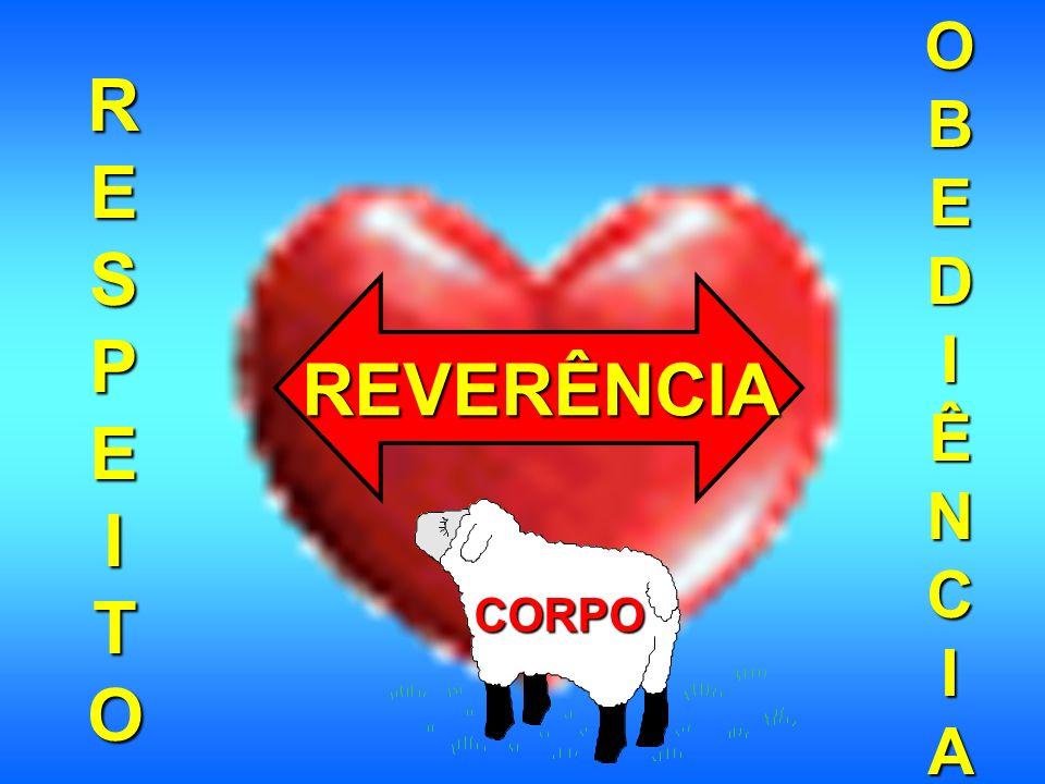 OBEDIÊNCIA RESPEITO REVERÊNCIA CORPO