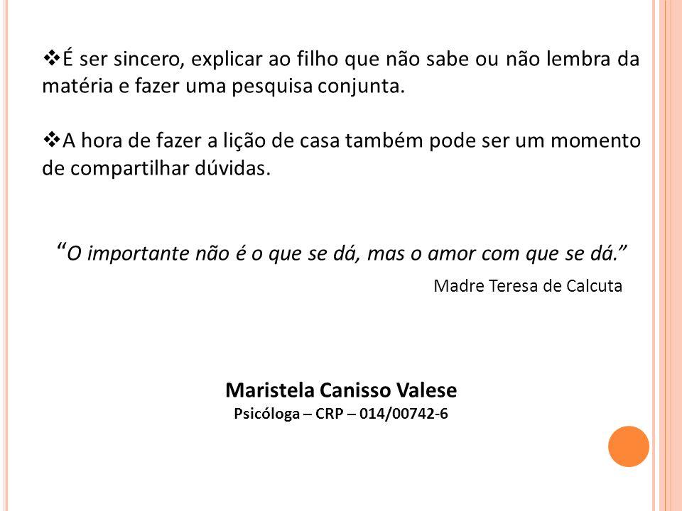 Maristela Canisso Valese