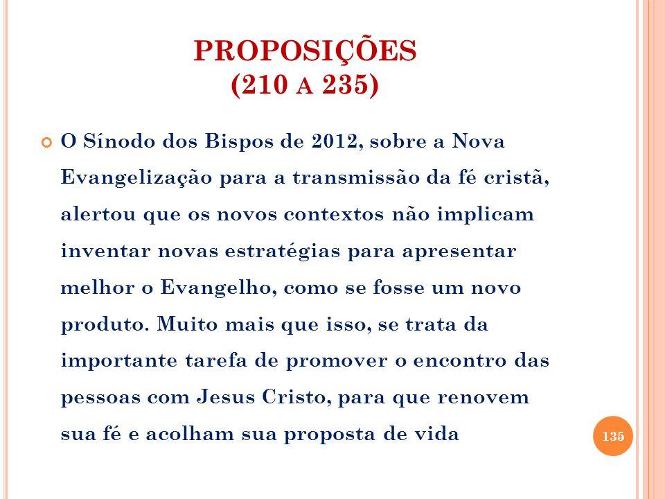 PROPOSIÇÕES (210 a 235)