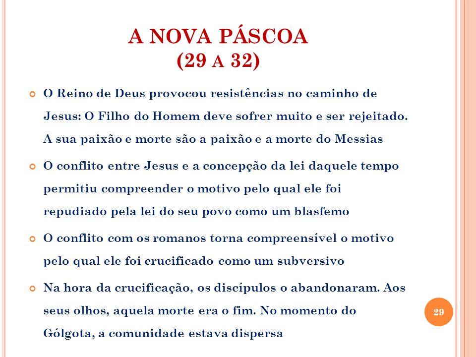A NOVA PÁSCOA (29 a 32)