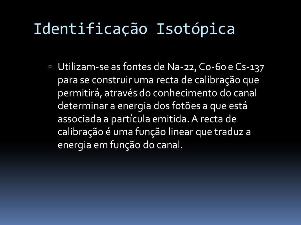 Identificação Isotópica