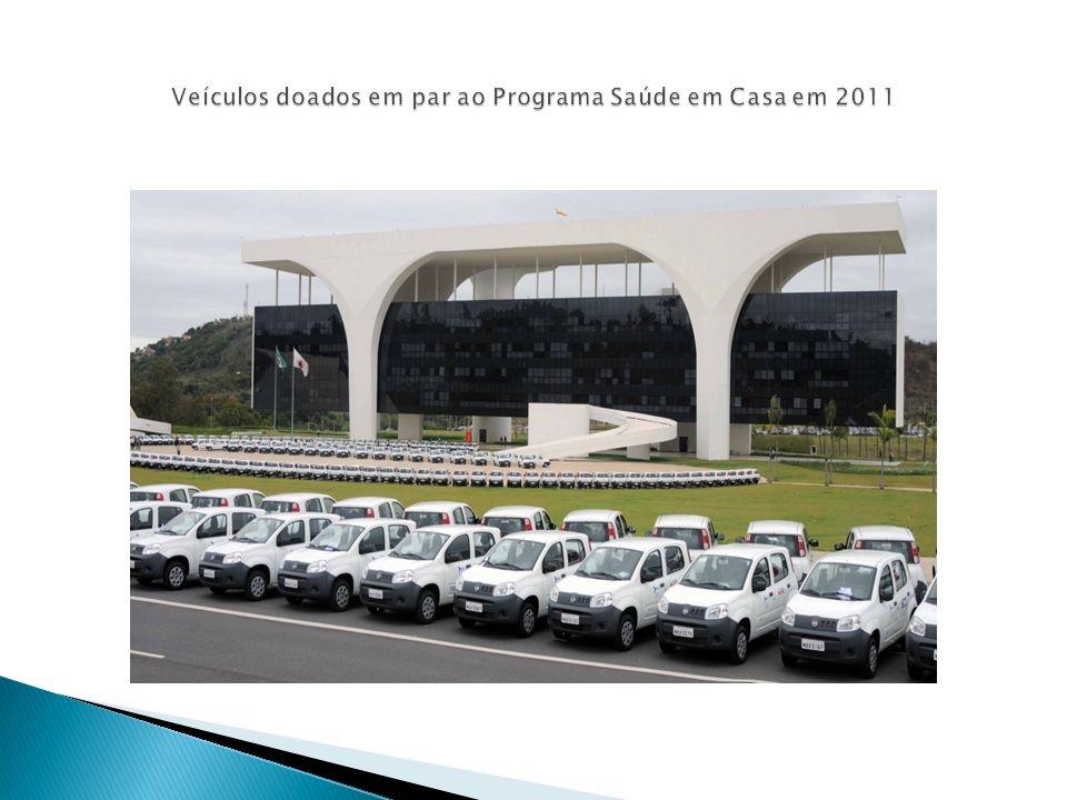 Veículos doados em par ao Programa Saúde em Casa em 2011