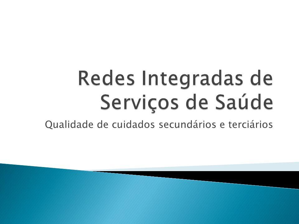 Redes Integradas de Serviços de Saúde