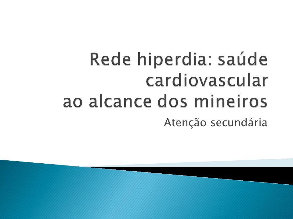 Rede hiperdia: saúde cardiovascular ao alcance dos mineiros