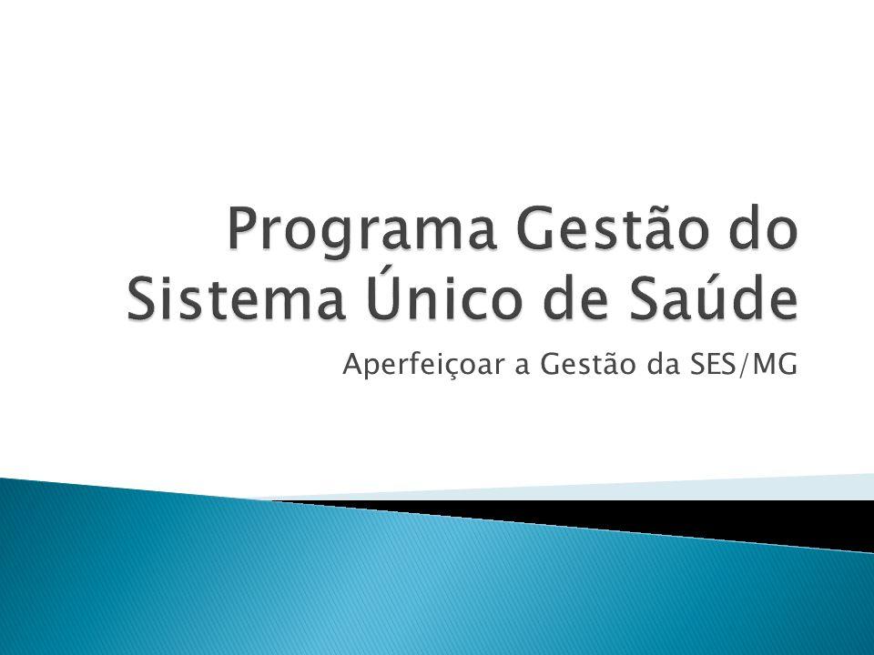 Programa Gestão do Sistema Único de Saúde