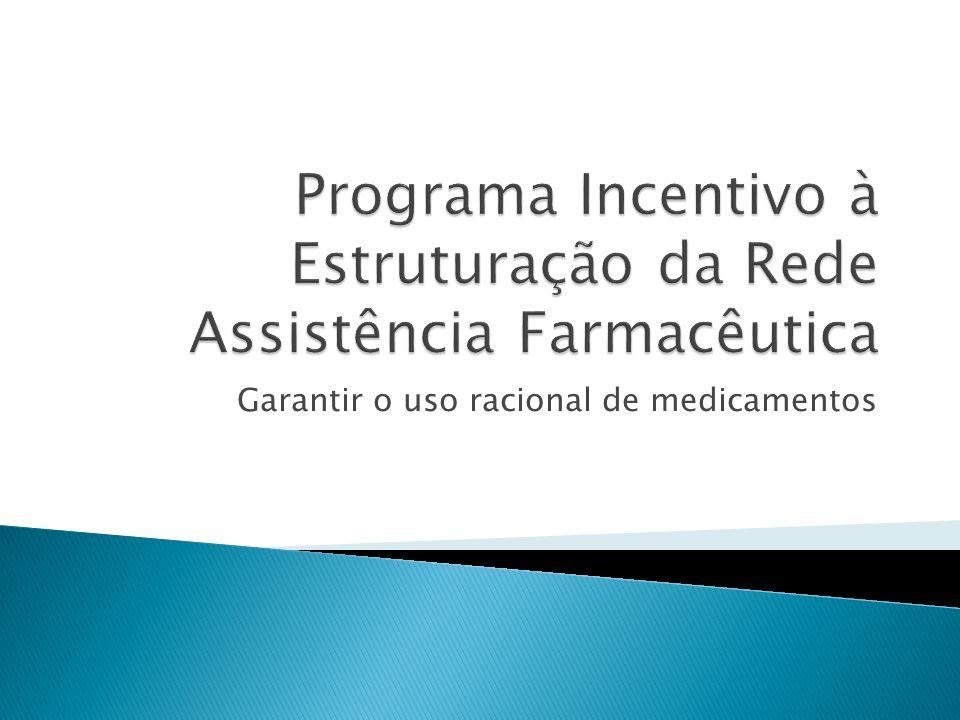 Programa Incentivo à Estruturação da Rede Assistência Farmacêutica