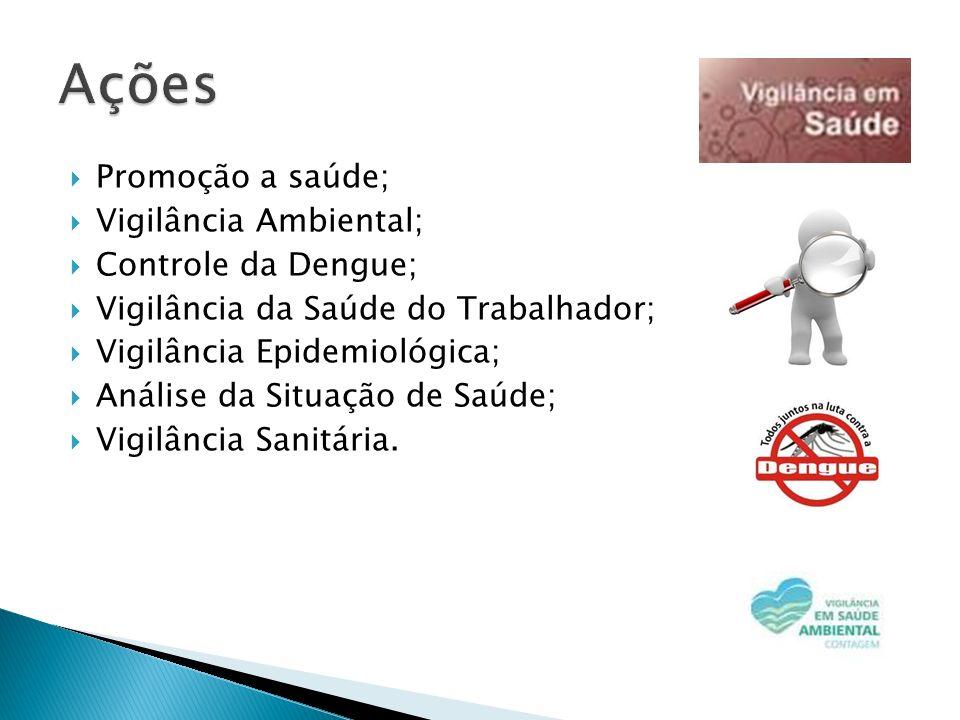 Ações Promoção a saúde; Vigilância Ambiental; Controle da Dengue;