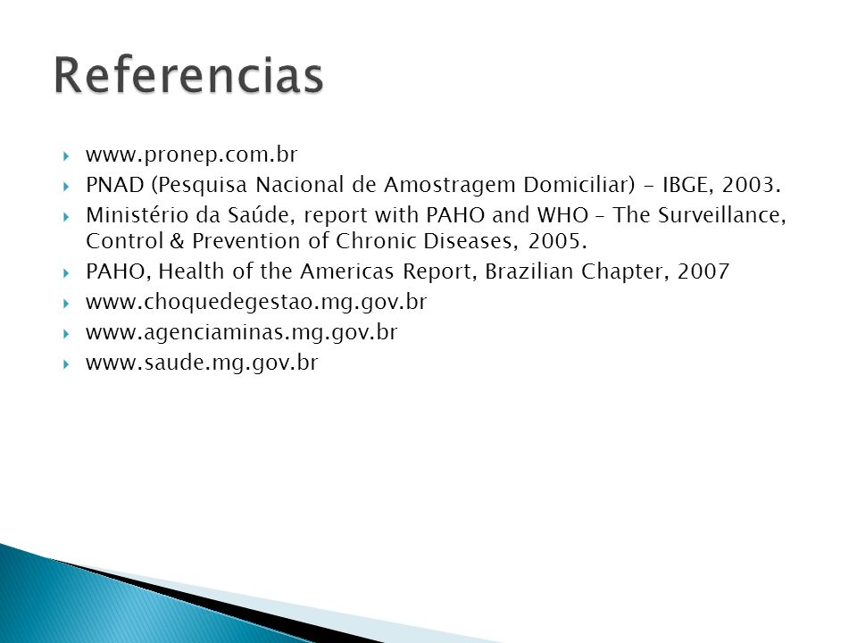 Referencias www.pronep.com.br