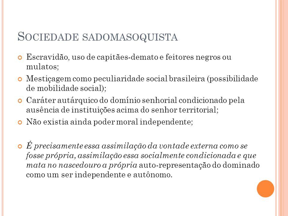 Sociedade sadomasoquista