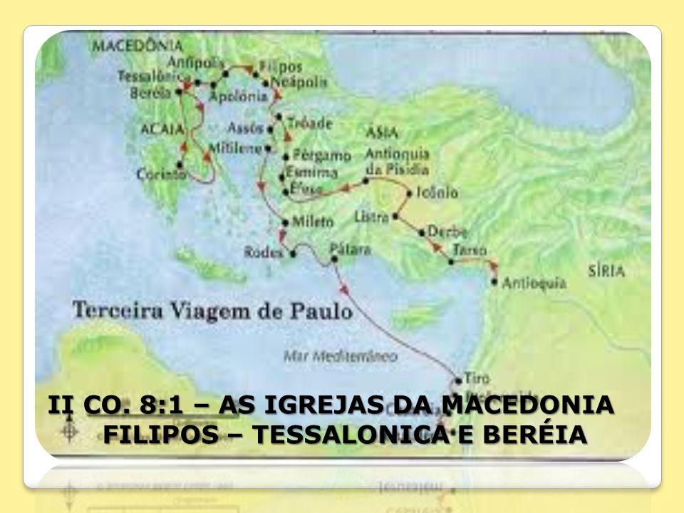 FILIPOS – TESSALONICA E BERÉIA