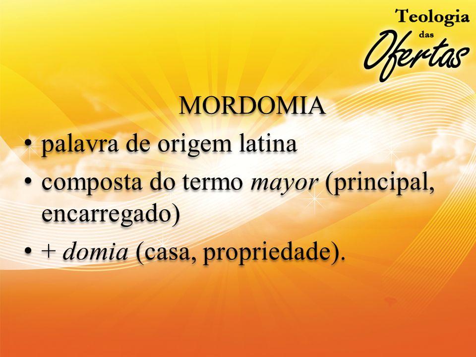 palavra de origem latina