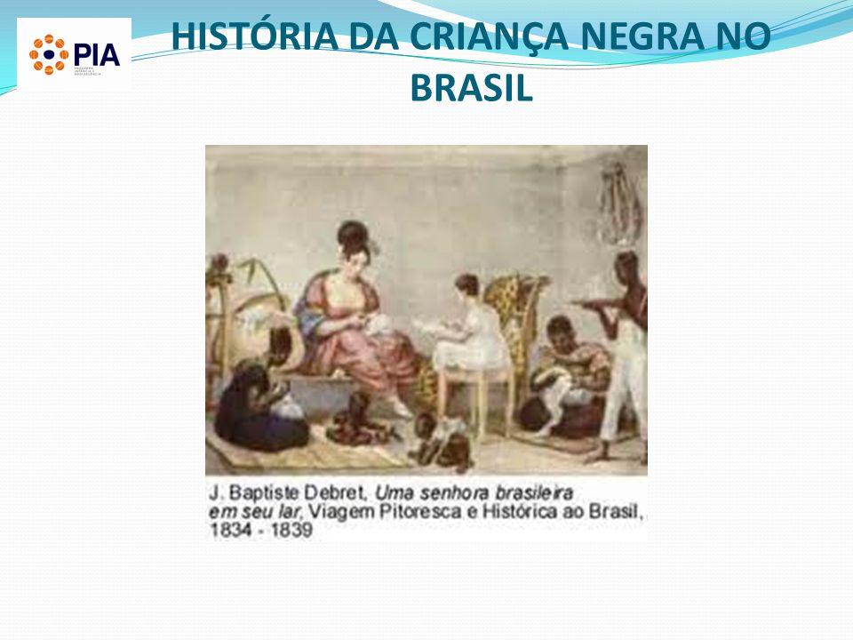 HISTÓRIA DA CRIANÇA NEGRA NO BRASIL
