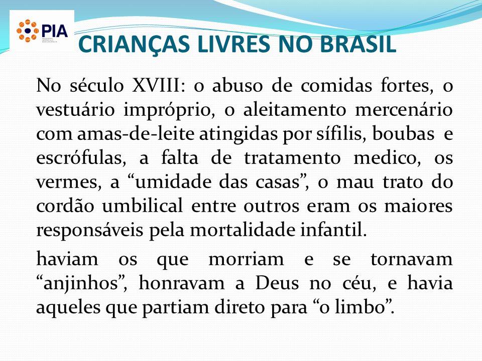 CRIANÇAS LIVRES NO BRASIL