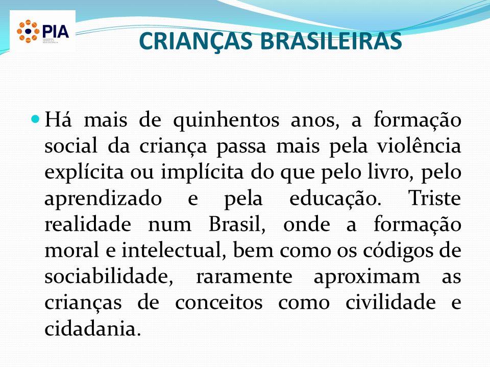 CRIANÇAS BRASILEIRAS