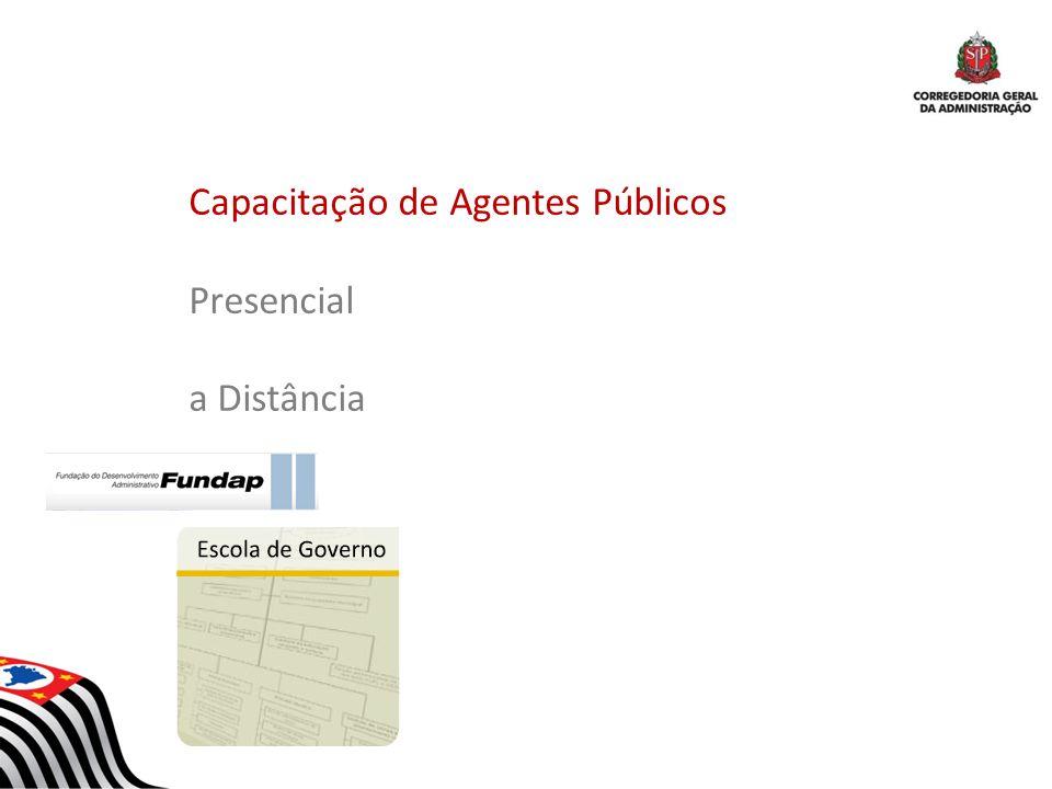 Capacitação de Agentes Públicos