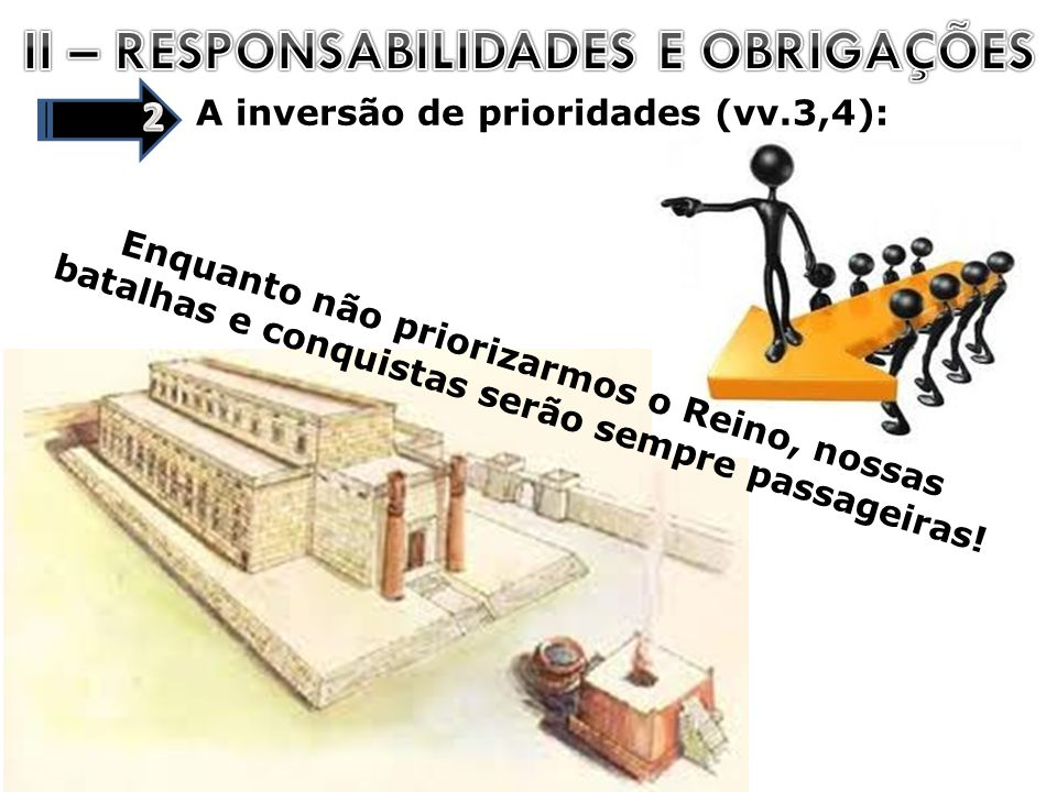 II – RESPONSABILIDADES E OBRIGAÇÕES