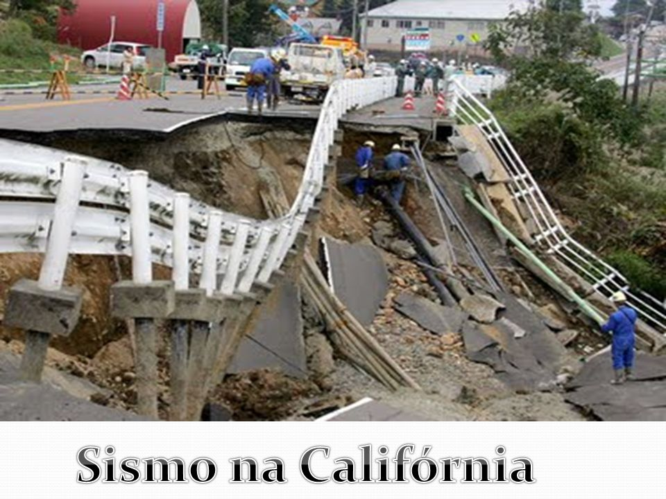 Sismo na Califórnia