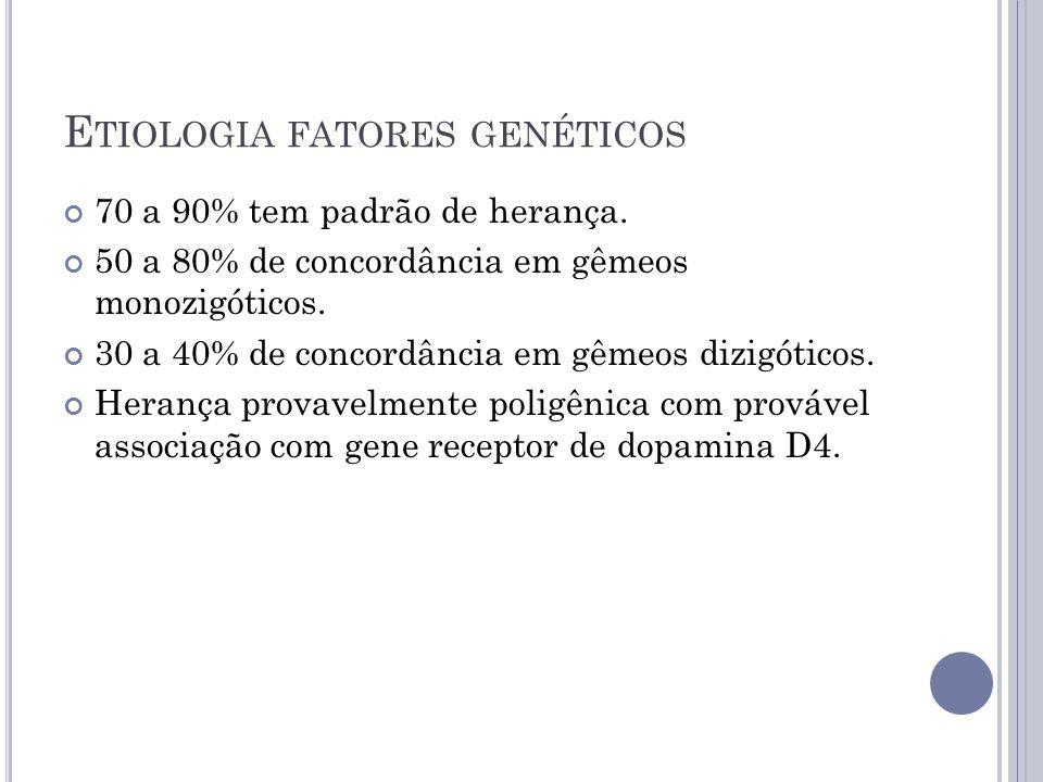 Etiologia fatores genéticos