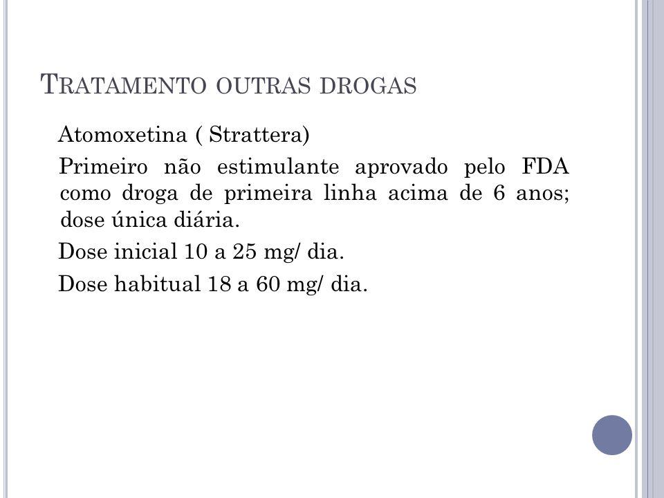 Tratamento outras drogas