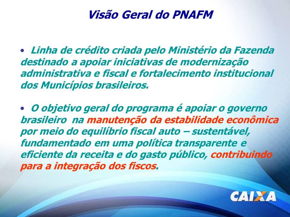 Visão Geral do PNAFM