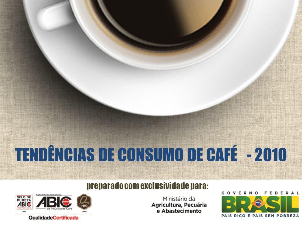 TENDÊNCIAS DE CONSUMO DE CAFÉ - 2010