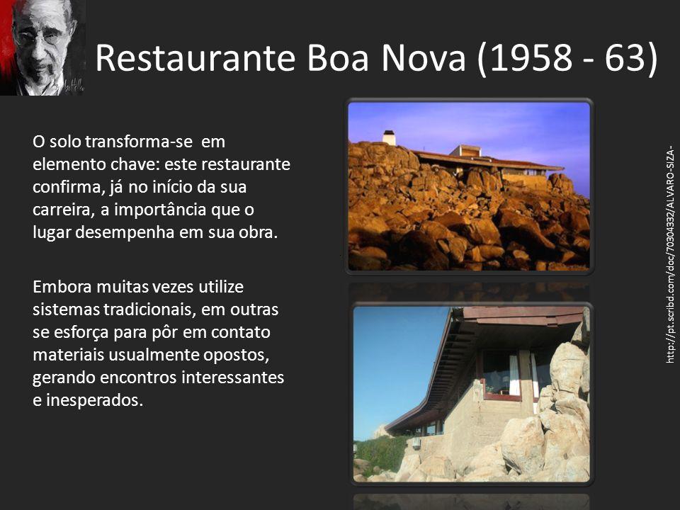 Restaurante Boa Nova (1958 - 63)