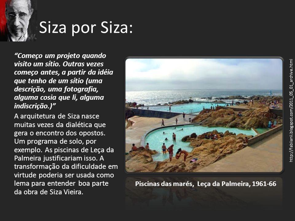 Piscinas das marés, Leça da Palmeira, 1961-66