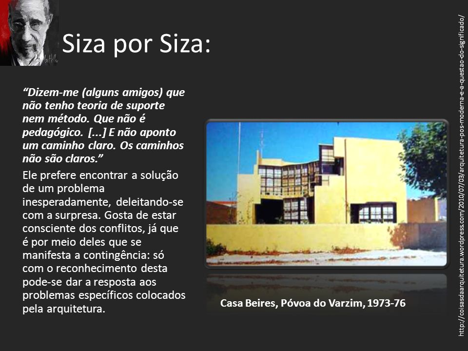 Siza por Siza: