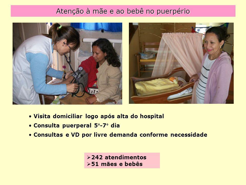Atenção à mãe e ao bebê no puerpério