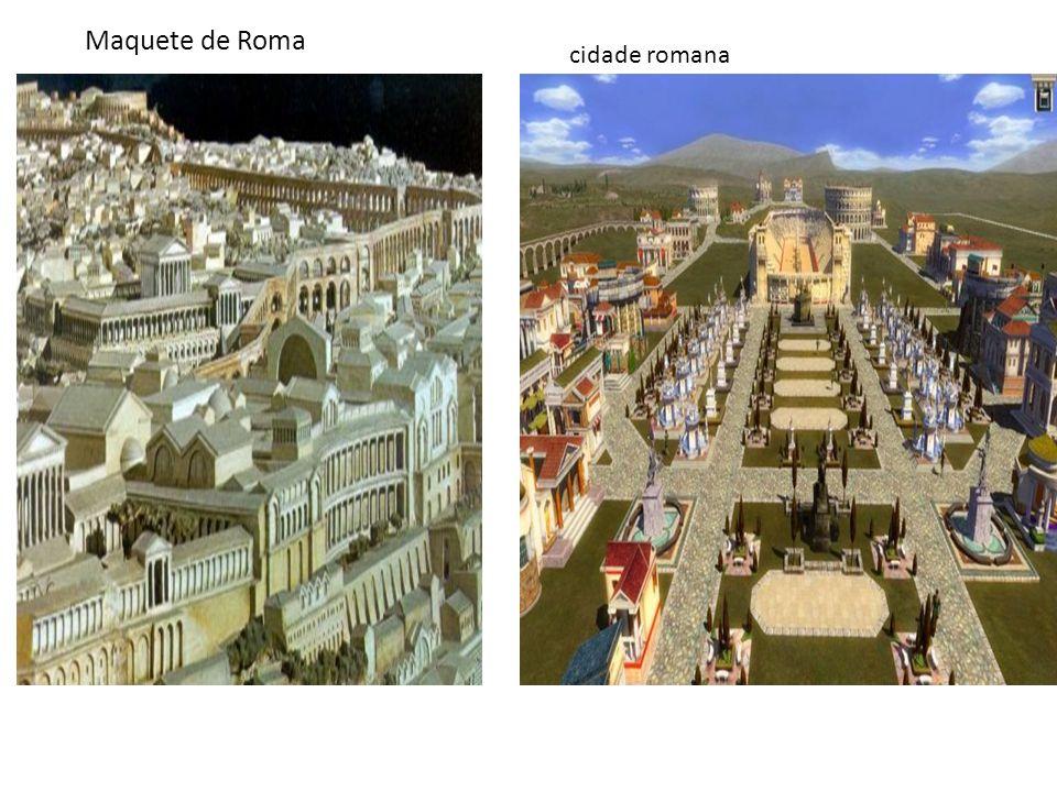 Maquete de Roma cidade romana