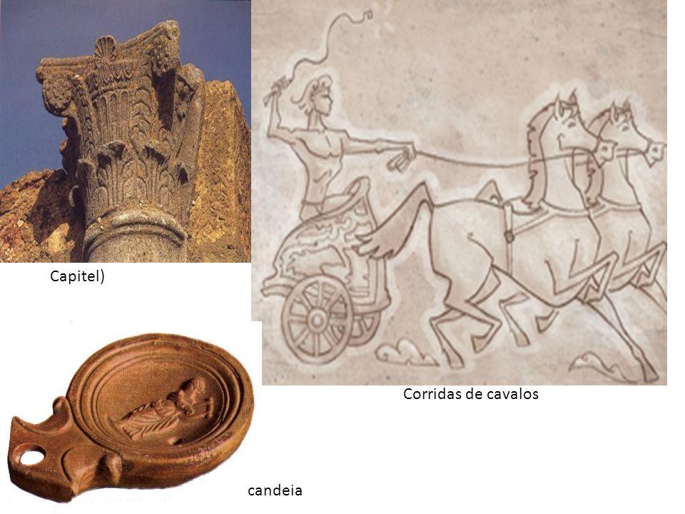 Capitel) Corridas de cavalos candeia