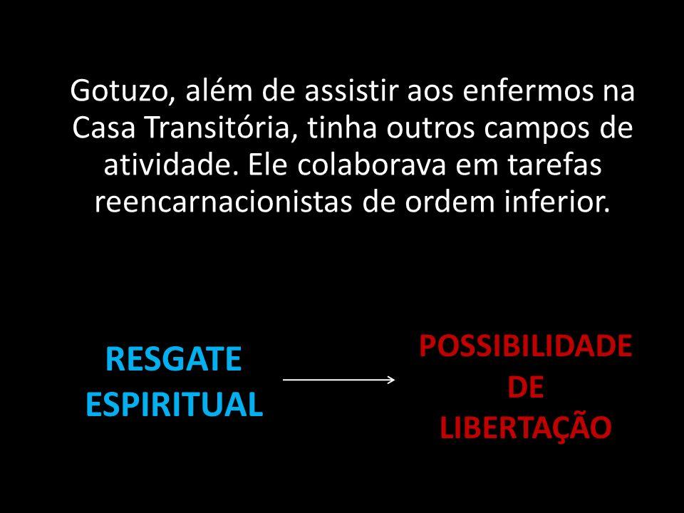 POSSIBILIDADE DE LIBERTAÇÃO