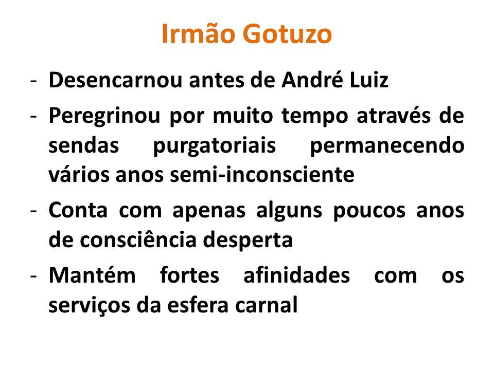Irmão Gotuzo Desencarnou antes de André Luiz