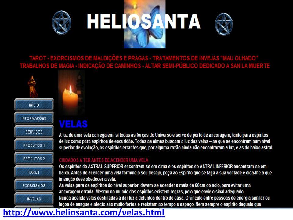 http://www.heliosanta.com/velas.html