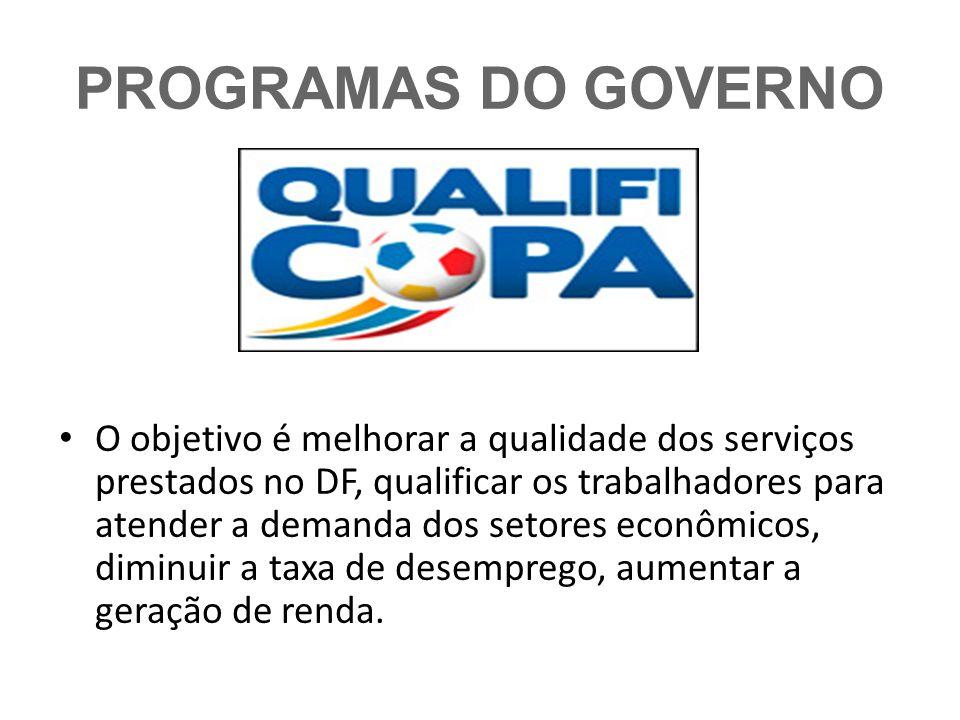 PROGRAMAS DO GOVERNO