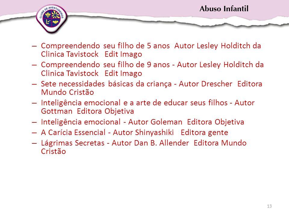 Compreendendo seu filho de 5 anos Autor Lesley Holditch da Clinica Tavistock Edit Imago