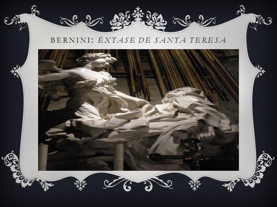 Bernini: Êxtase de Santa Teresa