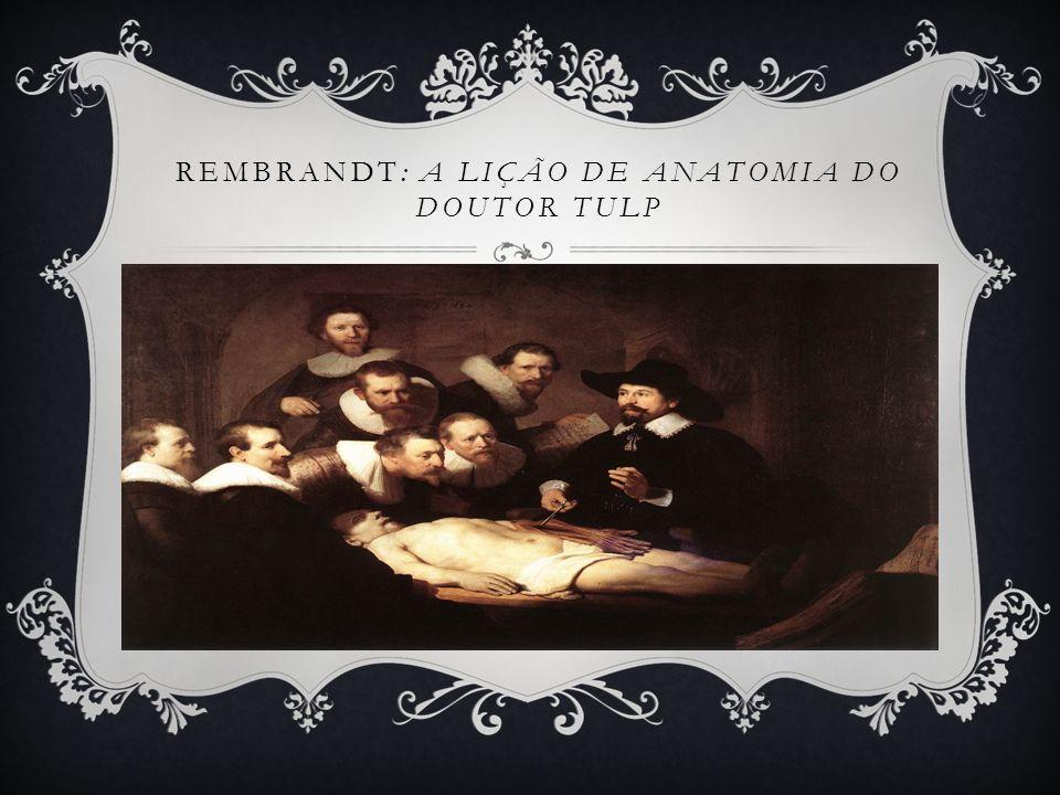 Rembrandt: A Lição de anatomia do Doutor Tulp
