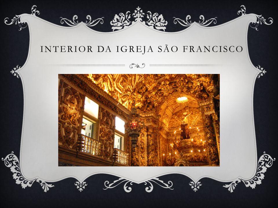 Interior da igreja São Francisco