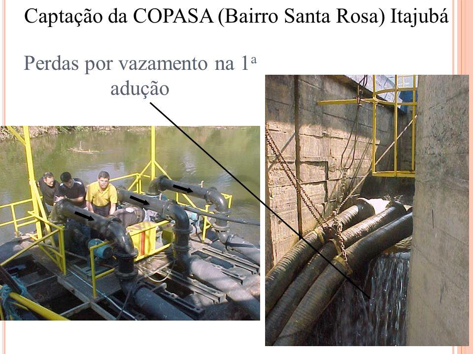 Captação da COPASA (Bairro Santa Rosa) Itajubá