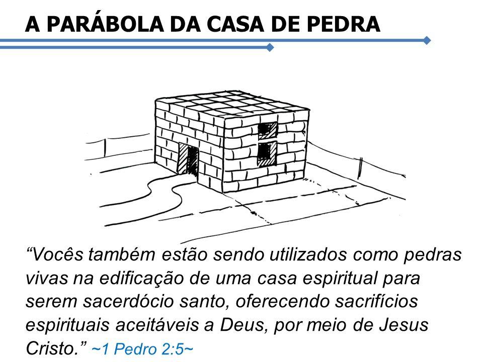 A PARÁBOLA DA CASA DE PEDRA