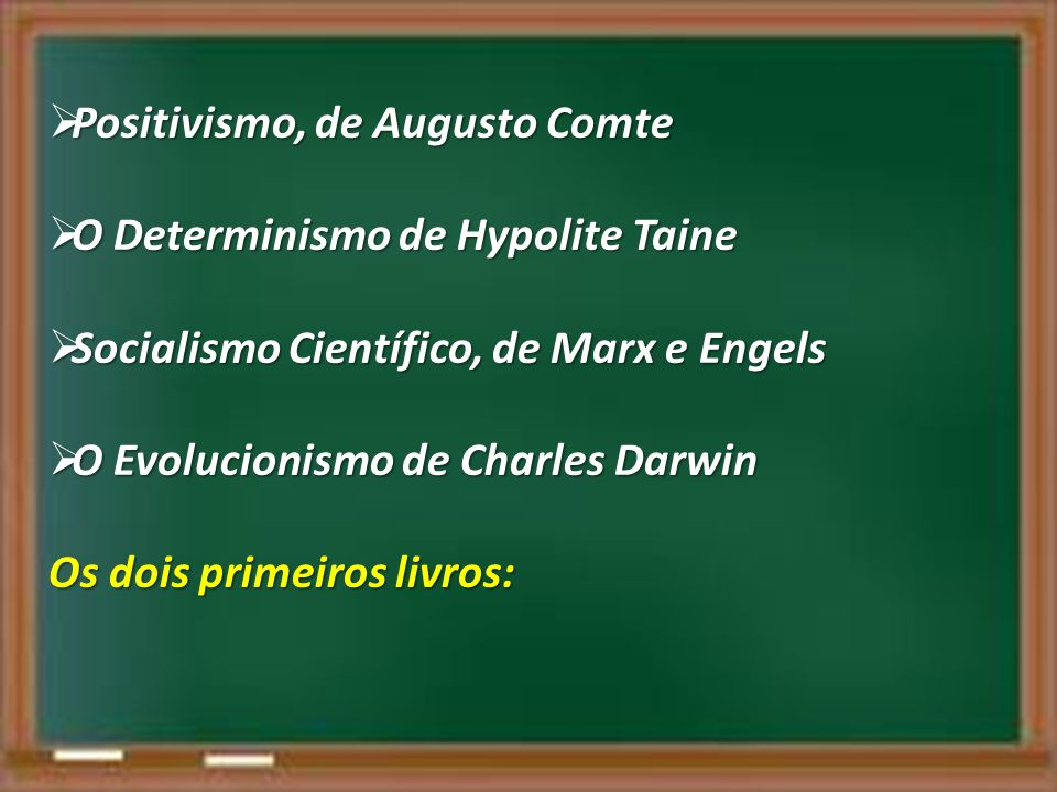 Positivismo, de Augusto Comte