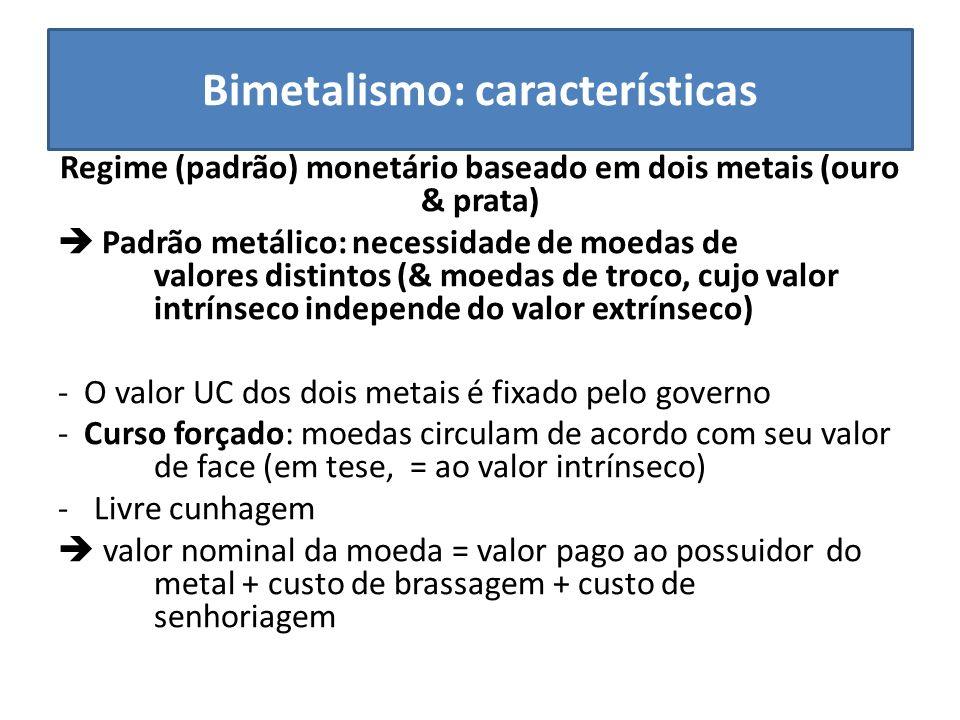 Bimetalismo: características