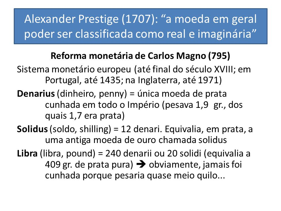 Reforma monetária de Carlos Magno (795)