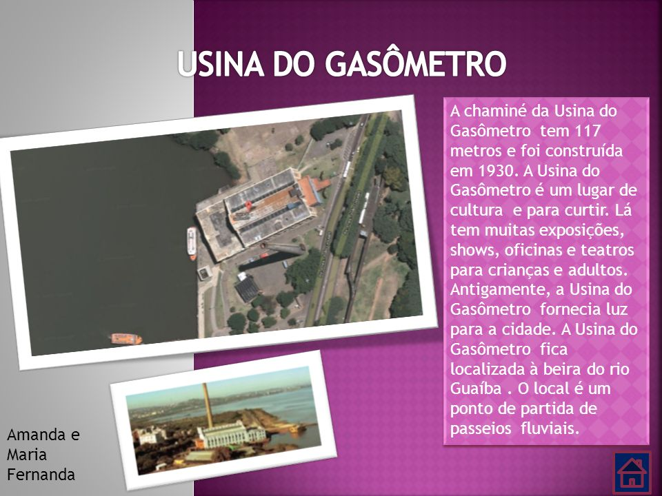 USINA DO GASÔMETRO