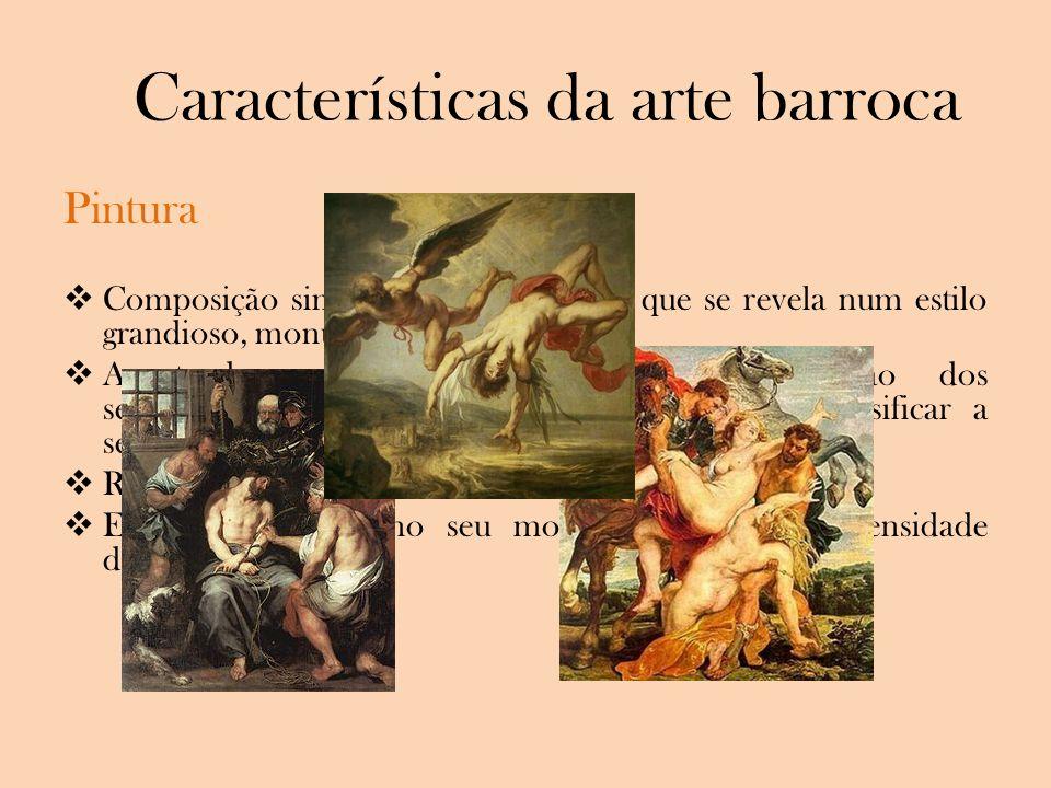 Características da arte barroca