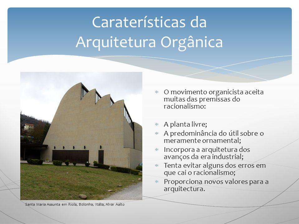 Caraterísticas da Arquitetura Orgânica